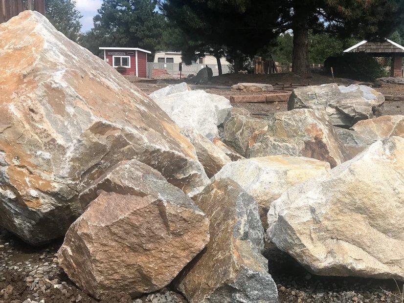 Central City Granite Boulders